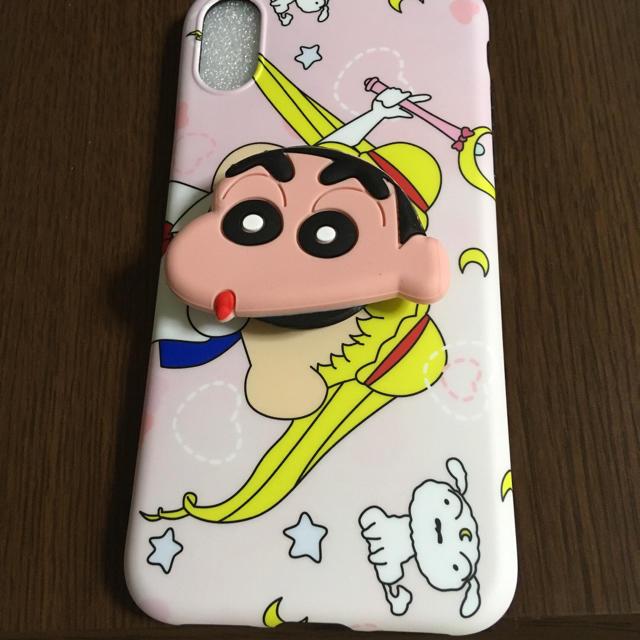 ディズニー アイフォンカバー 、 iPhone XRケース バンガーリング付きの通販 by m's shop|ラクマ