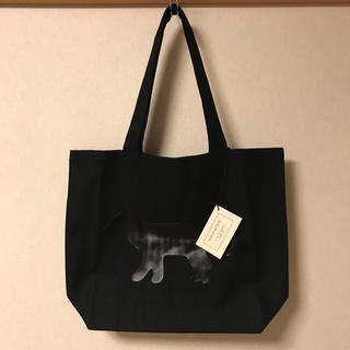 メゾンキツネ(MAISON KITSUNE')の新品 メゾンキツネ トートバッグ BLACK FOX(トートバッグ)