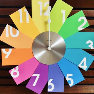 イデアインターナショナル(I.D.E.A international)の掛け時計 ☆カードウォールクロック(掛時計/柱時計)