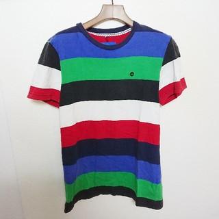 アディダス(adidas)のadidas アディダスオリジナルス マルチボーダーTシャツ(Tシャツ/カットソー(半袖/袖なし))