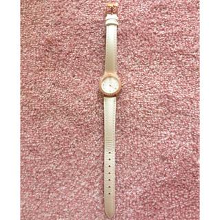 カナルヨンドシー(canal4℃)の腕時計(ダイヤモンド)ホワイト(腕時計)