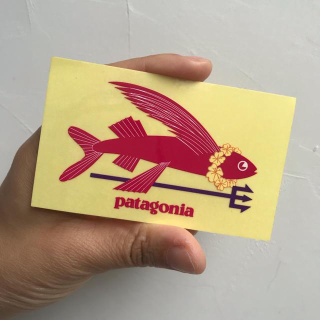 patagonia(パタゴニア)の新品 限定 パタゴニア patagonia ステッカー シール 自動車/バイクのバイク(ステッカー)の商品写真