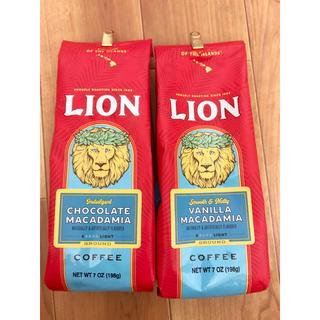 ライオン(LION)のライオンコーヒー バニラマカダミア チョコレートマカダミア(コーヒー)