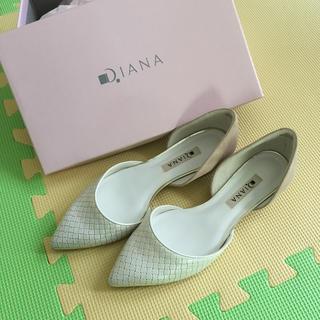 ダイアナ(DIANA)のDIANA フラットシューズ 美品(その他)