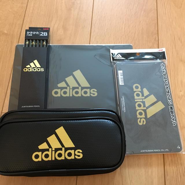 adidas(アディダス)のadidas ステーショナリーセット  インテリア/住まい/日用品の文房具(その他)の商品写真