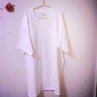 無地★BIGTシャツ(ひざ丈ワンピース)