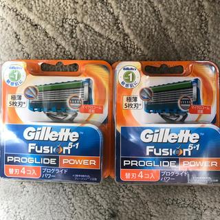 ジレ(gilet)のジレット フュージョン プログライド パワー 替刃 合計8個(日用品/生活雑貨)