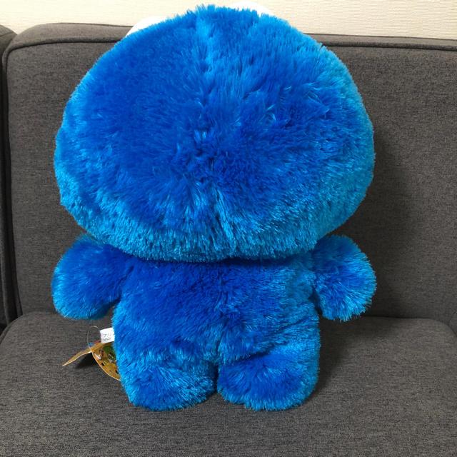 SESAME STREET(セサミストリート)のUSJ  クッキーモンスター BIGぬいぐるみ エンタメ/ホビーのおもちゃ/ぬいぐるみ(ぬいぐるみ)の商品写真