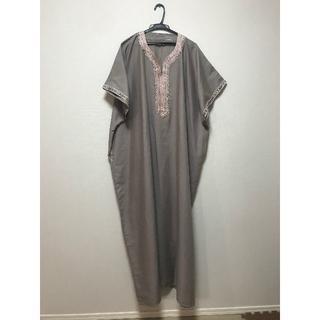 【新品、未使用】ジュラバ モロッコ 民族衣装 ベージュ(その他)