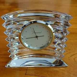 バカラ(Baccarat)のバカラ置き時計(置時計)