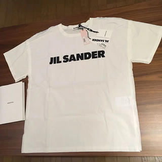 Jil Sander - L 新品正規品 JIL SANDER 19SS メンズ ロゴ Tシャツ
