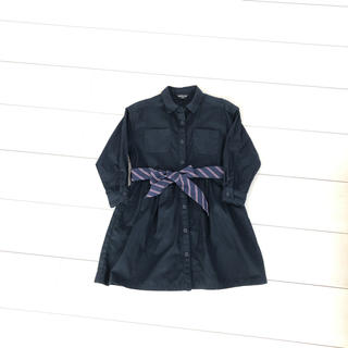aa655cb3f8743 コムサイズム(COMME CA ISM)の女の子ワンピースシャツ110(ワンピース)