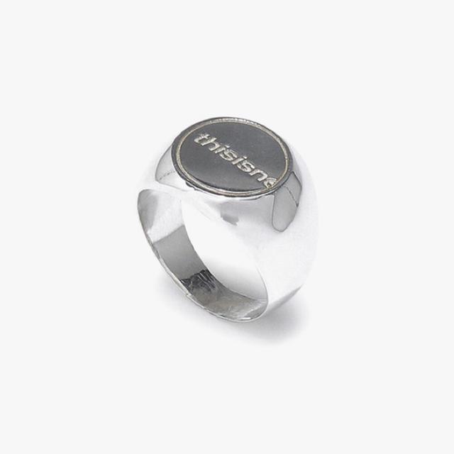 STYLENANDA(スタイルナンダ)のthisisneverthat ring M メンズのアクセサリー(リング(指輪))の商品写真