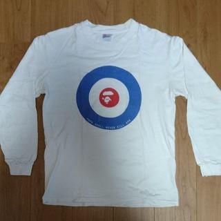 アベイシングエイプ(A BATHING APE)のAPE ターゲット ロンT(Tシャツ/カットソー(七分/長袖))