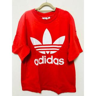 アディダス(adidas)のadidas オレンジ Tシャツ(Tシャツ/カットソー(半袖/袖なし))