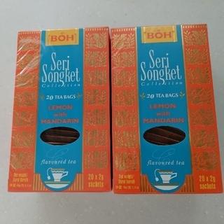ボー(BOH)のBOH tea レモンマンダリン 2箱(茶)