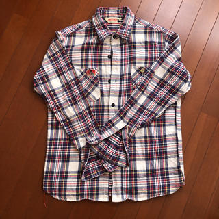 シュガーケーン(Sugar Cane)の東洋エンタープライズ  キャッツポウのネルシャツです(シャツ)
