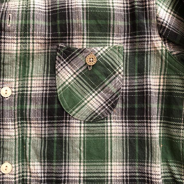 Sugar Cane(シュガーケーン)の東洋エンタープライズ  キャッツポウのネルシャツです メンズのトップス(シャツ)の商品写真