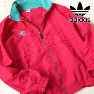 アディダス(adidas)の美品 XO アディダス メンズ 80's ナイロンジャケット ヴィンテージ(ナイロンジャケット)