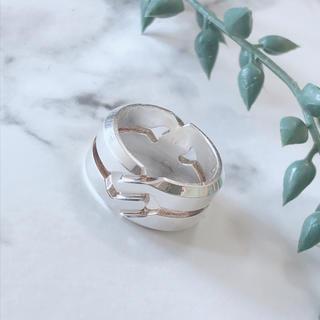 グッチ(Gucci)の✩GUCCI✩ ノットリング メンズ 指輪(リング(指輪))