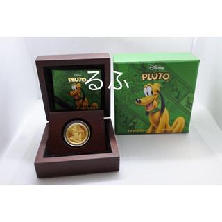 ディズニー(Disney)の2014年 ニウエ Niue ディズニー  プルート  金貨1/4オンス(貨幣)