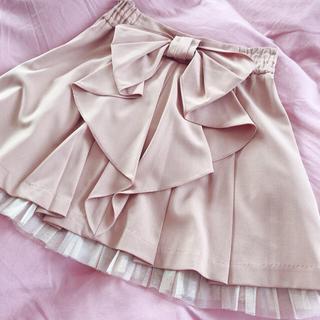 シークレットマジック(Secret Magic)の値下げ secret magic リボンスカート(ひざ丈スカート)
