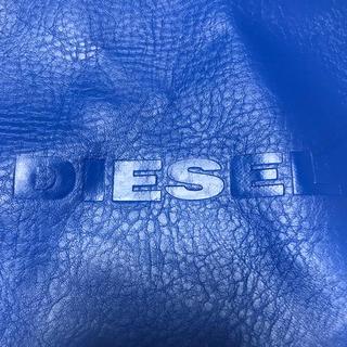 ディーゼル(DIESEL)のDIESELディーゼル ショップバッグ ブルー(ショップ袋)
