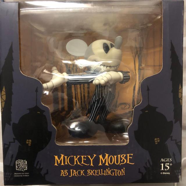 MEDICOM TOY(メディコムトイ)のVCD ミッキーマウスasジャックスケリントン エンタメ/ホビーのおもちゃ/ぬいぐるみ(キャラクターグッズ)の商品写真