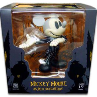メディコムトイ(MEDICOM TOY)のVCD ミッキーマウスasジャックスケリントン(キャラクターグッズ)