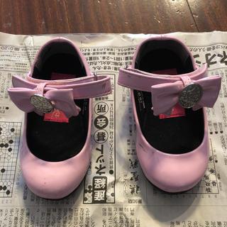 ディズニー(Disney)のプリンセスのピンク色の靴 15センチ(フォーマルシューズ)