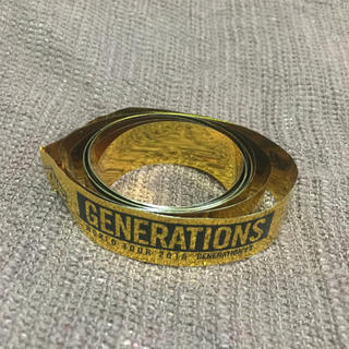 ジェネレーションズ(GENERATIONS)のGENERATIONS 金テープ(その他)