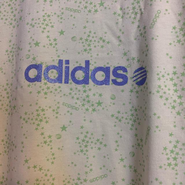 adidas(アディダス)の星柄アディダスロンT レディースのトップス(Tシャツ(長袖/七分))の商品写真