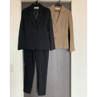ナチュラルビューティーベーシック(NATURAL BEAUTY BASIC)のスーツとジャケットのセット(スーツ)