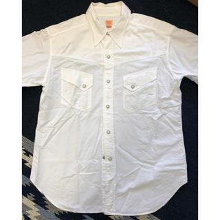 シュガーケーン(Sugar Cane)のSUGAR CANE 白 コットンシャツ(シャツ)