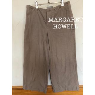 マーガレットハウエル(MARGARET HOWELL)のマーガレットハウエル クロップドパンツ(クロップドパンツ)