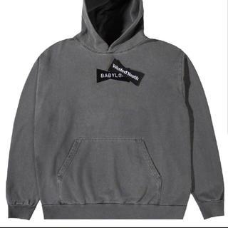 バビロン(BABYLONE)の即完売 Wasted Youth Babylon hoodie M(パーカー)