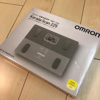オムロン(OMRON)のオムロン 体重体組成計 HBF-225 体重計(体重計/体脂肪計)