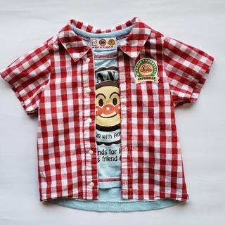 バンダイ(BANDAI)のアンパンマンアンサンブル風Tシャツ70cm(Tシャツ)