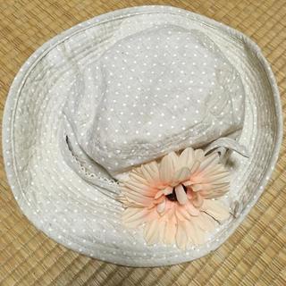 マザウェイズ(motherways)のmotherways  女児56cm 夏用帽子(帽子)