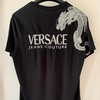ヴェルサーチ(VERSACE)の【正規品】VERSACE JEANS COUTURE ヴェルサーチ Tシャツ(Tシャツ/カットソー(半袖/袖なし))