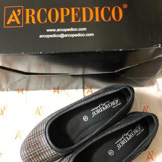 アルコペディコ(ARCOPEDICO)の◼️新品未使用◼️ARCOPEDICOの履きやすい靴◼️茶系(ハイヒール/パンプス)