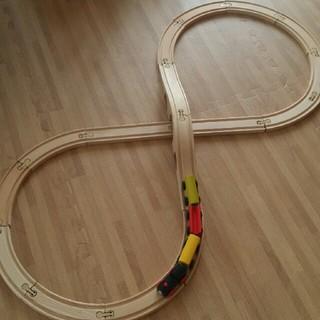 イケア(IKEA)のIKEA 木製 電車 レール(電車のおもちゃ/車)