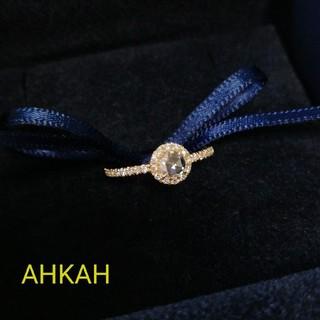 アーカー(AHKAH)のAHKAH  ヴィヴィアンローズ  リング  7号 クリーニング済! (リング(指輪))