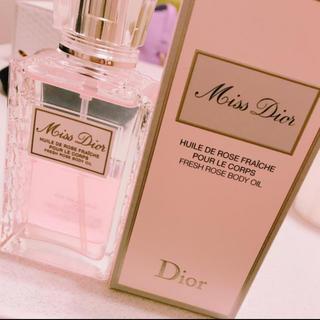 ディオール(Dior)のmiss dior ボディオイル(ボディローション/ミルク)
