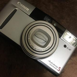 キヤノン(Canon)の5/12まで出品 キャノン オートボーイs 美品 シルバー(フィルムカメラ)