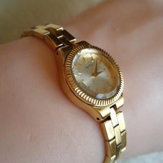 アガット(agete)のアガット 腕時計 ダイヤレディースクォーツ(腕時計)