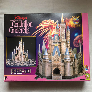 Disney - シンデレラ城3Dパズル