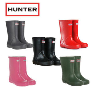 ハンター(HUNTER)のHUNTERキッズ長靴(長靴/レインシューズ)