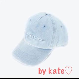 3a50dc2b677a カルバンクライン(Calvin Klein)のカルバンクライン キャップ 帽子 デニム ライトブルー ラス2