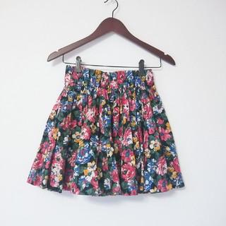 ローリーズファーム(LOWRYS FARM)のLOWRYSFARM♡花柄スカート(ミニスカート)